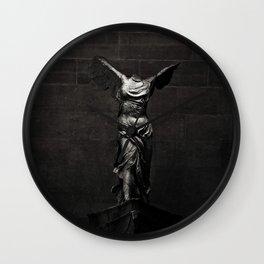 Nike von Samothrake Wall Clock