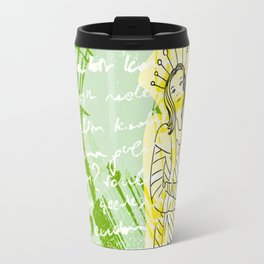 Unhappy Girl Travel Mug