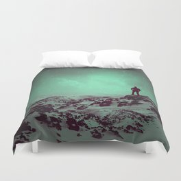 Lost the Moon While Counting Stars II Duvet Cover