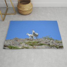 Ewe and Lamb Dall Sheep Rug