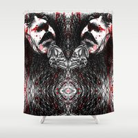 theater Shower Curtains featuring theater of tragedy by vasodelirium