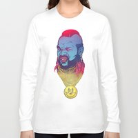 foo fighters Long Sleeve T-shirts featuring Pity Da Foo by Beery Method