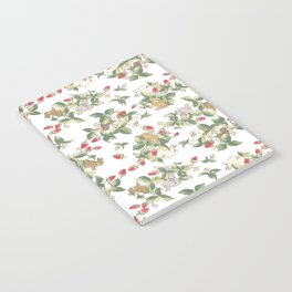 Strawberry fields bunnies Notebook