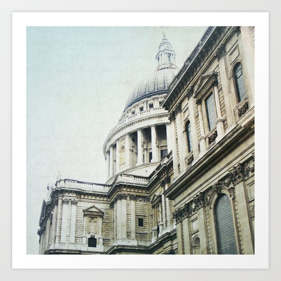Letters From London Art Print