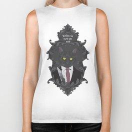 American Psycho Kitty Biker Tank