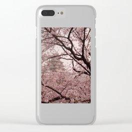 Pink Himeji Dream Clear iPhone Case