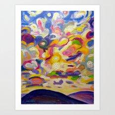 Okanagan Sky Art Print