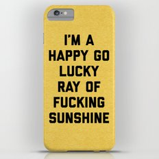 Ray Of Sunshine Funny Quote iPhone 6 Plus Slim Case