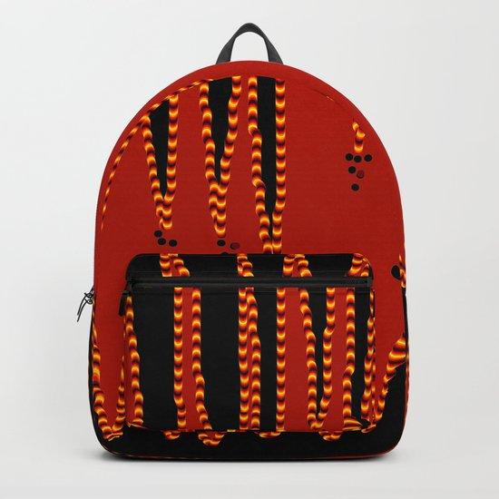 Tiger stripes Backpack