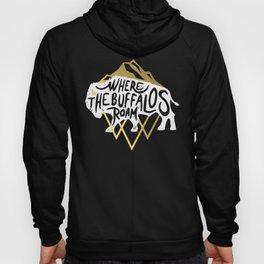Where the Buffalos Roam Hoody