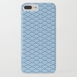 """Seigaiha"" Japanese traditional pattern iPhone Case"