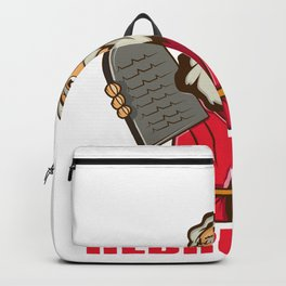 How Does Moses Make Coffee Hebrews It Coffee Lover Gift Backpack