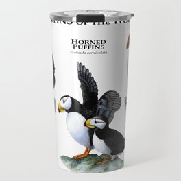 Puffins of the World Travel Mug