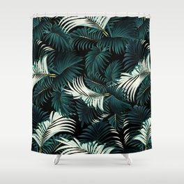 TROPICAL JUNGLE - Night Shower Curtain