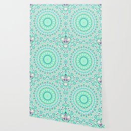 ARABESQUE SPRING MINT Wallpaper