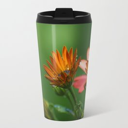 Multi-colour Osteospermum Travel Mug
