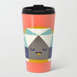 Geodesic Dome Metal Travel Mug