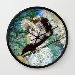 Jeanne (Spring) Wall Clock