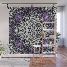 Purple Tribal Wall Mural