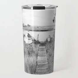 Walkway To The Basin Travel Mug