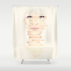 Fragments #2 Shower Curtain