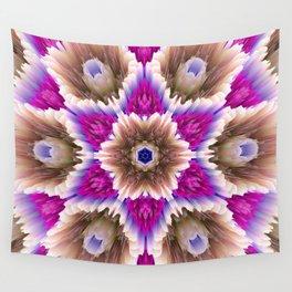 glitch star bouquet Wall Tapestry