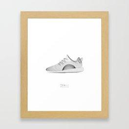 YEEZYS 350 Boost Sneakers Art Framed Art Print