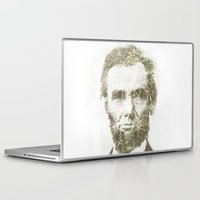 lincoln Laptop & iPad Skins featuring Abraham Lincoln by Sney1