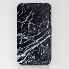 Real Marble Black Slim Case iPhone (3g, 3gs)