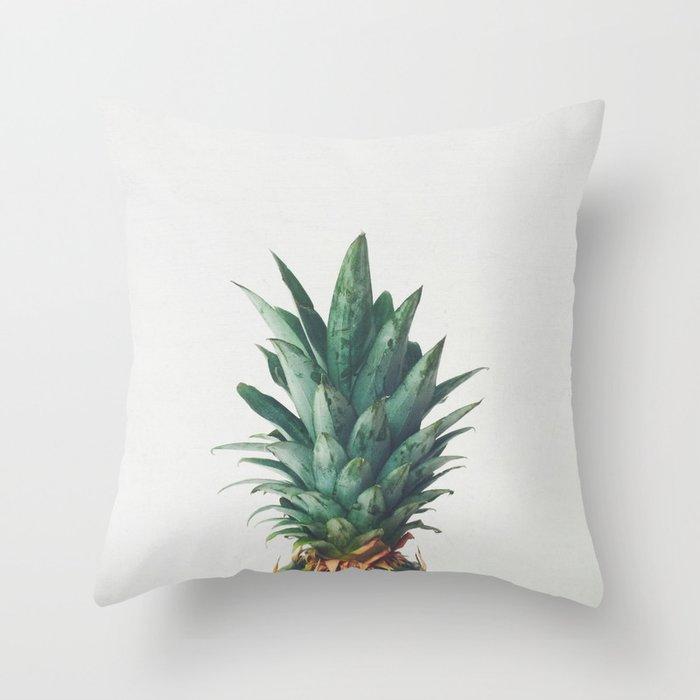 Pineapple Top Throw Pillow
