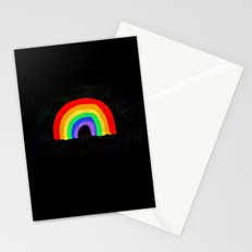 Rainbow Night Stationery Cards