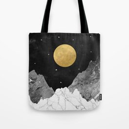 Moon and Stars Tote Bag