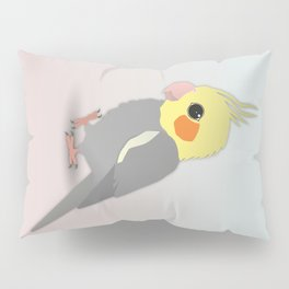 Cute cockatiel Pillow Sham