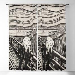 The Scream (1895) by Edvard Munch Blackout Curtain