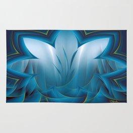 Color Meditation - Blue  Rug