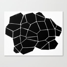 Connecting Shapes Canvas Print