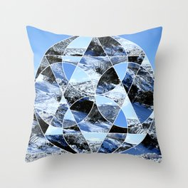 Mt. Buller Throw Pillow