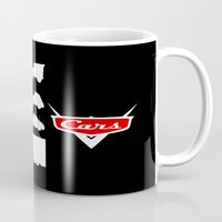 cars Mugs featuring Cars by Citron Vert