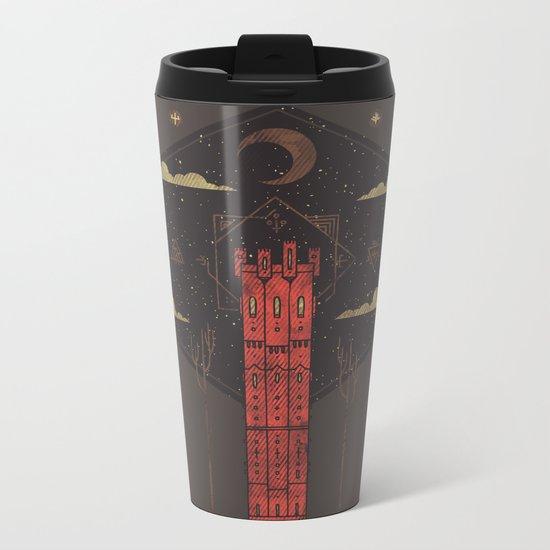 The Crimson Tower Metal Travel Mug