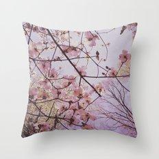 Dogwood 1 Throw Pillow