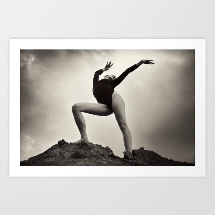 Dance Healing Art Print
