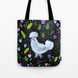 Glam Chicken Tote Bag
