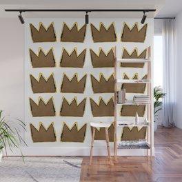 Crown Basquiat Wall Mural