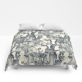 just cattle indigo pearl Comforters