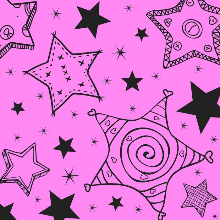 Stars are AMAZING in pink too Duvet Cover