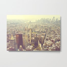 A CITY OF APPLES? Metal Print