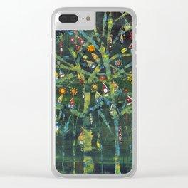My little village Clear iPhone Case
