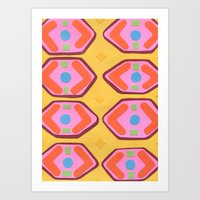 deco Art Prints featuring Deco by Hollis Campbell