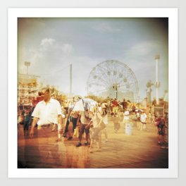 Coney Island #2 Art Print