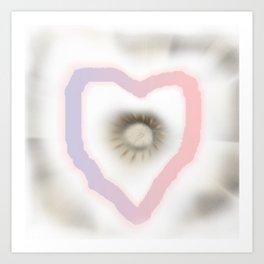 Love you and me Art Print